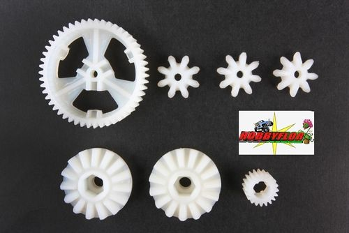 Tamiya CW-01 and Hornet Grasshopper RC Diff Gears: 58070/63/35 - X7538 9115010