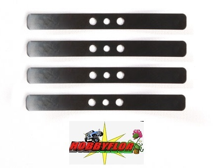 Tamiya Ballestas RC Leaf Spring C: tamiya hilux - tundra - f350 and truck (4pc) 9808093