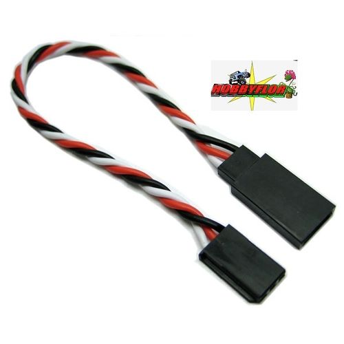 ETRONIX 45CM 22AWG FUTABA TWISTED EXTENSION WIRE ET0736