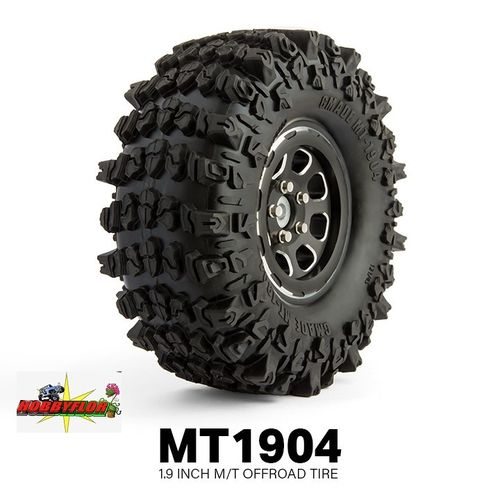GM70304-1 1.9 MT1904 Off-road Tire XL (1 goma para rueda de repuesto) Diametro: 121mm