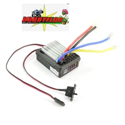 ETRONIX PROBE PLUS 2.0 BRUSHED WP ESC 7.4V 14T MOTOR LIMIT & LIPO CUTOFF ET0103