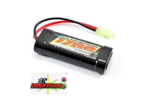 VOLTZ 6 CELL 7.2V NIMH 1700MAH BATTERY STICK PACK W/MINI TAMIYA VZ0054