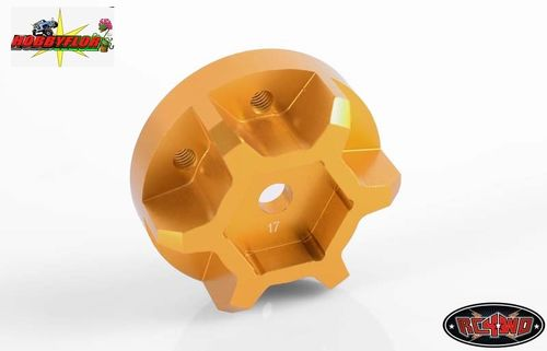 RC4WD 17MM UNIVERSAL HEX FOR 40 SERIES AND CLOD WHEELS (2pc) Z-S0847