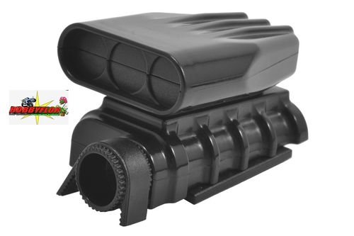 RPM BLACK MOCK INTAKE & BLOWER SET RPM73412