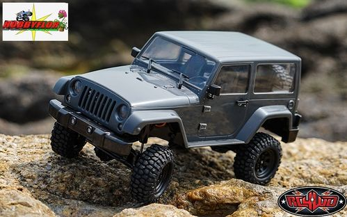 RC4WD 1/18 GELANDE II RTR W/BLACK ROCK JEEP BODY SET Z-RTR0037