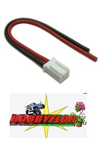 ETRONIX MICRO BALANCE CONNECTOR WITH 10CM 20AWG SILICONE WIRE ET0630