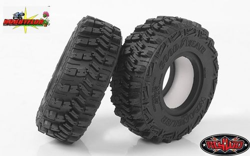 "RC4WD GOODYEAR WRANGLER MT/R 1.9"" 4.19"" SCALE TIRES (2pc) Diametro 106,4mm Z-T0160"