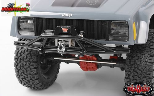 RC4WD PARACHOQUES TOUGH ARMOR WINCH BUMPER WITH GRILL GUARD TO FIT AXIAL SCX10 I y II Z-S0160
