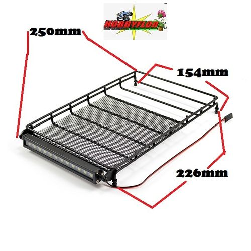 FTX OUTBACK FURY BACA CON LED ALLOY ROOF RACK & LIGHTBAR W/16 LED 250x154mm FTX9230
