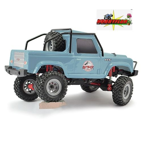 FTX OUTBACK MINI 2.0 RANGER 1:24 (Carroceria tipo DEFENDER D90 PICK UP) RTR LIGHT BLUE FTX5507LB