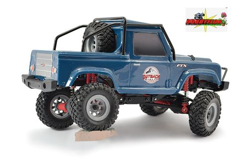 FTX OUTBACK MINI 2.0 RANGER 1:24 (Carroceria tipo DEFENDER D90 PICK UP) RTR DARK BLUE FTX5507DB