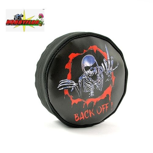 FASTRAX SCALE SKULL SPARE TYRE COVER Cubre rueda (Diametro 125mm) FAST2377S