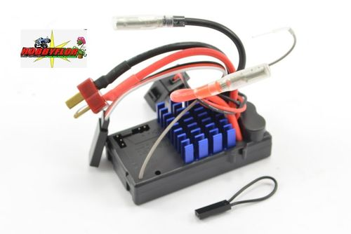 FTX MAULER 2-IN-1 BRUSHED ESC + RECEIVER 45amp con Drag braker Conector Deam FTX8801