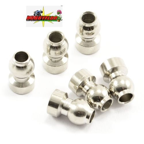 FTX MAULER BALL STUD M3 for rotulas FTX8773 (LONG) (6PCS)