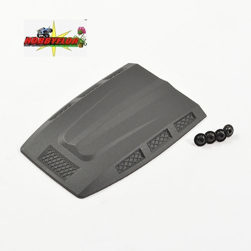 FTX FURY BODYSHELL MOULDED ENGINE COVER (Adorno toma de capo) FTX9207