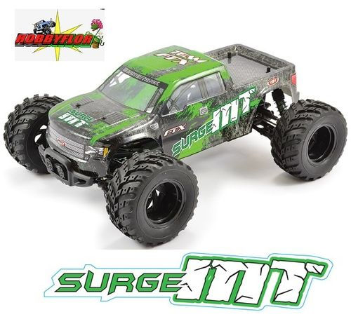 FTX SURGE 1/12 BRUSHED MONSTER TRUCK READY-TO-RUN 4x4 (GREEN) FTX5513G