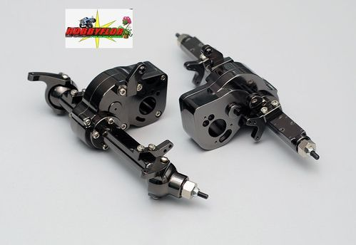 RC4WD BULLY COMP 2.2 FRONT & REAR AXLE (Estrechos) (193mm entre hexagonos) Z-A0020