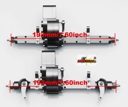 RC4WD BULLY COMP 2.2 FRONT & REAR AXLE Z-A0020