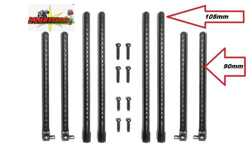 CARISMA M40S BODY POST SET postes de carroceria (4x105mm + 4x90mm) CA14108