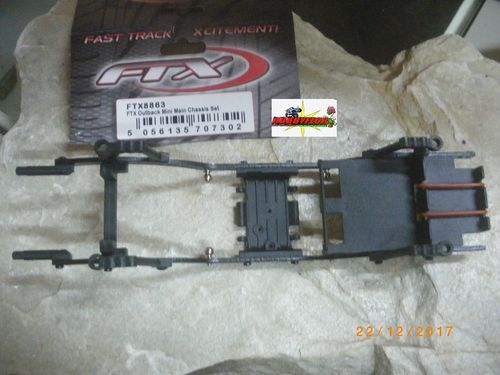 FTX OUTBACK MINI 1/24 MAIN CHASSIS SET FTX8863