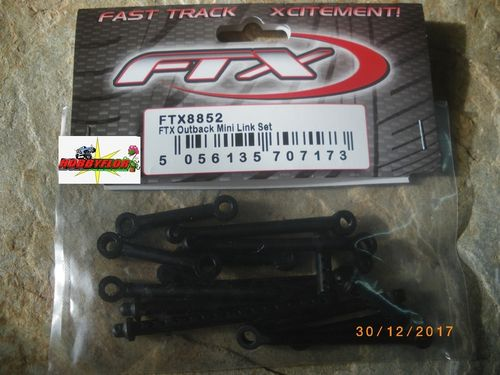 FTX OUTBACK MINI LINK SET + Postes de carroceria + barra direccion FTX8852