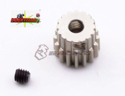3Racing 48 Pitch Pinion Gear 16T (7075 mit Hard Coating)  3Racing PG4816
