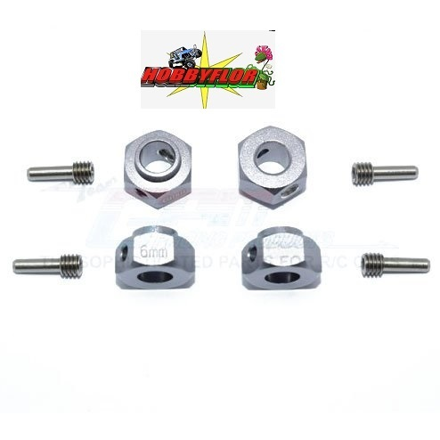 GPM Alu Ensanchadores +6mm(4) for TRX-4 GR-TRX4010-6