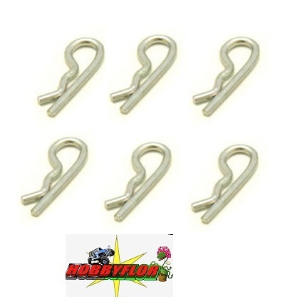 FASTRAX SMALL BODY CLIPS pequeños L=15mm (6pc) FAST212